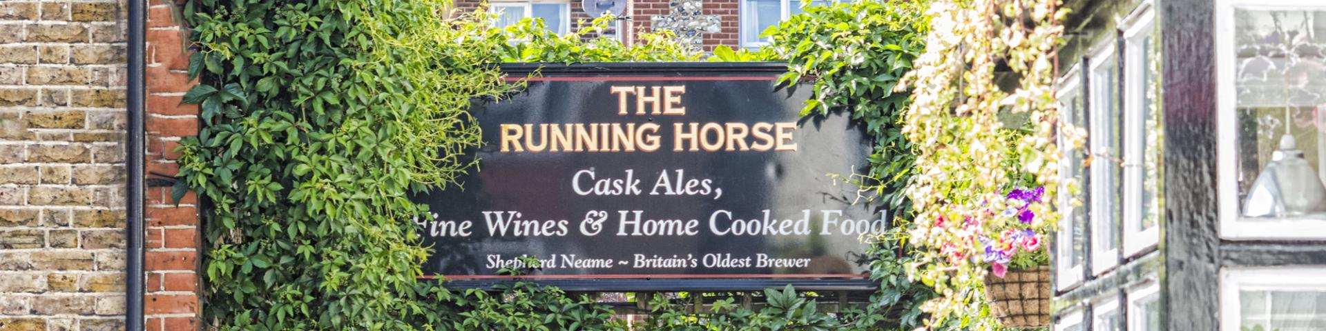 Running Horse, Leatherhead